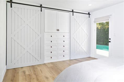 Barn Door Closets Closet Storage Containers Hgtv