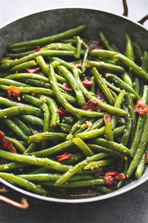 Green Bean With Sugar By Ejmi brown sugar green beans with bacon creme de la crumb