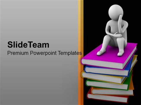 themes powerpoint 2010 education books are our true friends education theme powerpoint