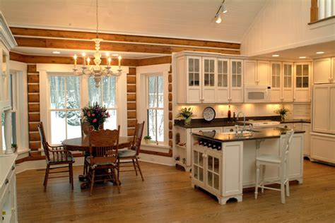 Josie s cabin rustic kitchen grand rapids by sears architects