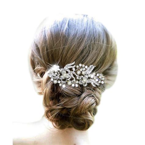 Aksesoris Rambut Wedding Silver Tiara Pengantin Wanita Tre 013 gaya rambut pengantin beli murah gaya rambut pengantin