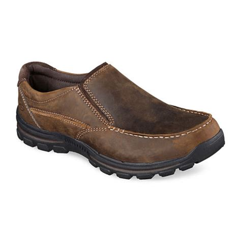 skechers 174 rayland mens casual slip on shoes jcpenney