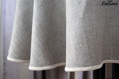 leinen tisch leinen tischdecke 100 leinen grau verschiedene gr 246 223 en
