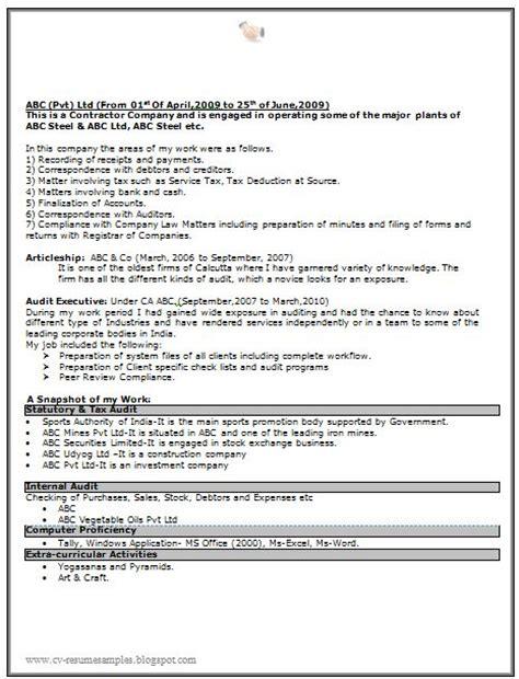 Resume Sample Naukri by Sample Resume