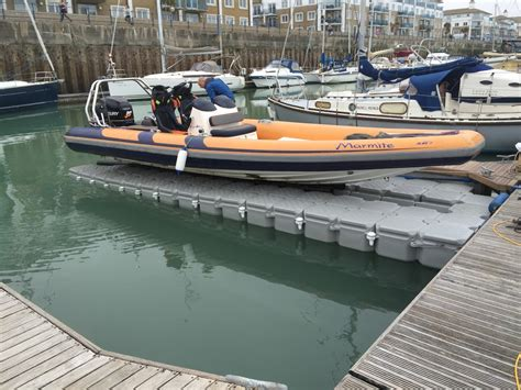 floating commercial boat docks drive on docks for your rib jetski or pwc from versadock