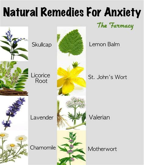 remedies for anxiety health stress depression