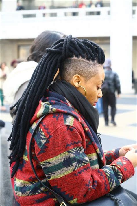 dread locks with shaved side dreadlocks w shaved sides back natural hair pinterest