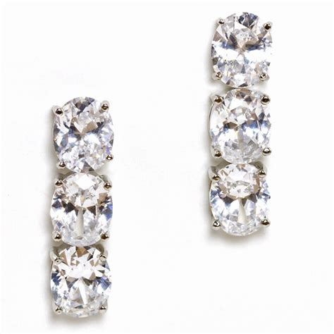 fallon cubic zirconia earrings