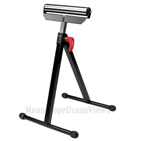 Table Saw Roller Stand adjustable roller stand miter table saw extension support