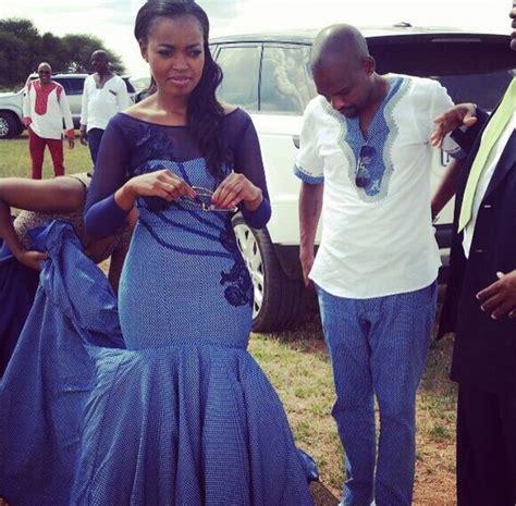 Wedding Attire Language by Tswana Traditional Attire