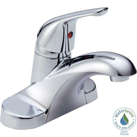Delta Foundations Faucet by Delta Foundations 4 In Centerset Single Handle Bathroom
