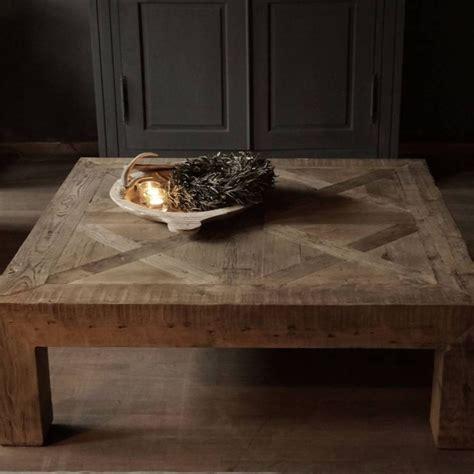vierkante salontafel landelijk 1000 images about salontafel on pinterest old wood met