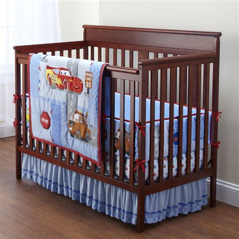 Crib Bedding Cars Disney Pixar Cars Quot Racer Quot Crib Bedding Set 4 Shop Your Way Shopping