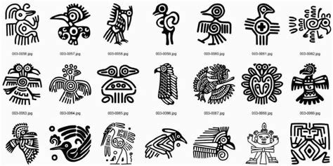 imagenes y simbolos mayas dibujos aztecas mayas e incas imagui