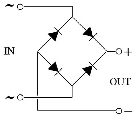 diode bridge pcb file 4 diodes bridge rectifier jpg wikimedia commons