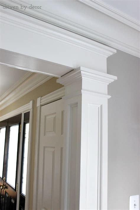 Mid Century Window Trim doorway molding design ideas driven by decor