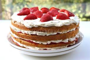 kuchen mit sahne seasaltwithfood strawberry cake