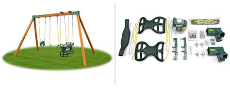 swing set frame kit classic kids swing set hardware kit eastern jungle gym