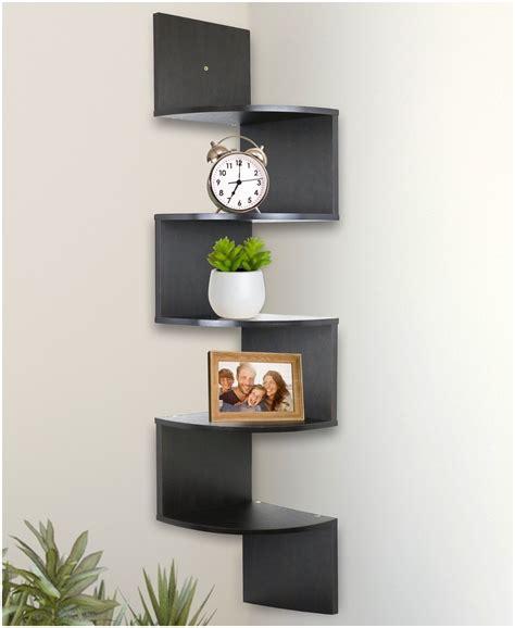 Corner Wall Bookcase Corner Wall Shelves For Bedroom