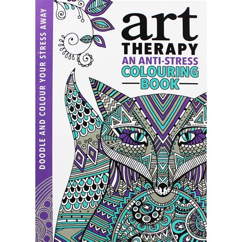 anti stress colouring book tesco therapy an anti stress colouring book by jonny marx