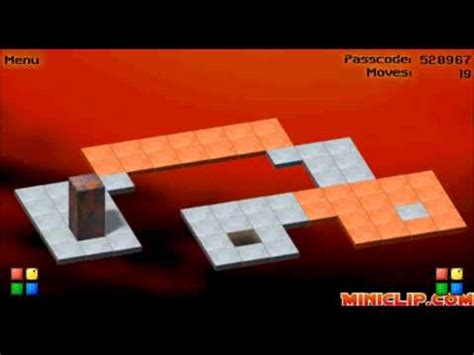 bloxorz a free puzzle game