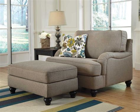 comfortable chair with ottoman comfortable oversized chairs with ottoman homesfeed