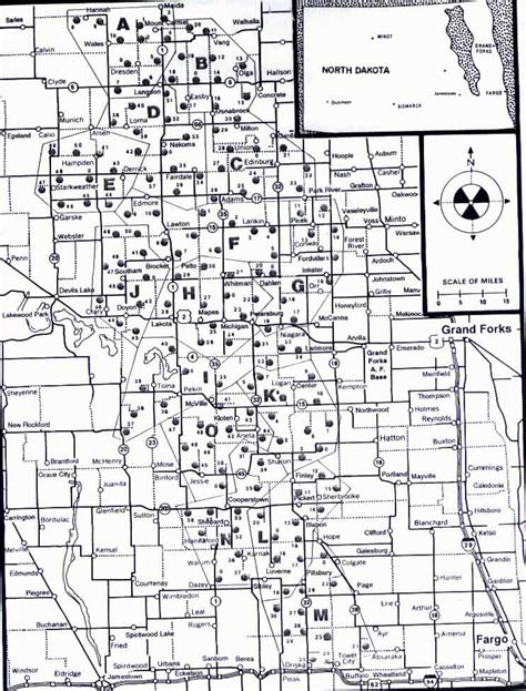 map us missile silos grand forks air missile field