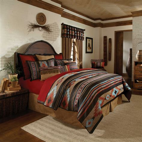 santa fe bedding southwestern decor design decorating ideas