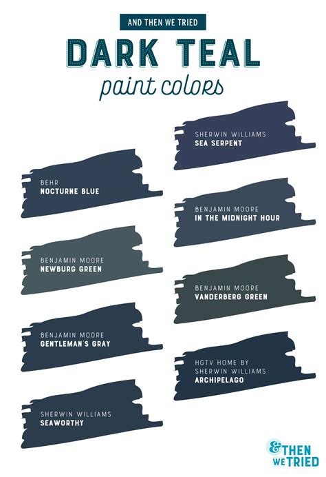 choosing the teal paint color and then we tried