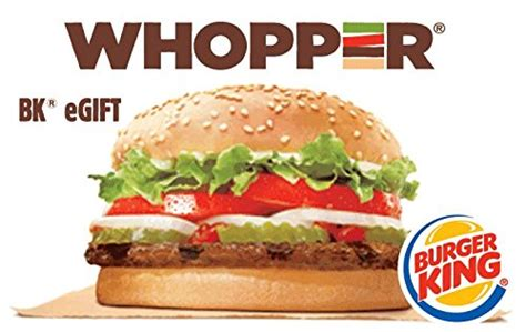 Gift Card King - amazon com burger king whopper gift cards configuration asin e mail delivery gift