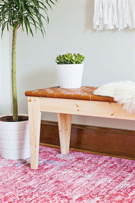 diy ikea bench best 25 leather bench seat ideas on pinterest leather