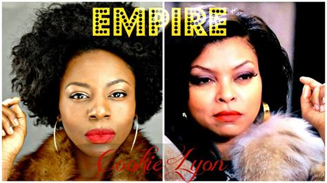 empire the television show hair and makeup cookie lyon inspired makeup natural hair styles youtube