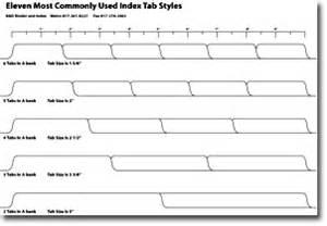 tabs template b d binder and index index tabs custom tabs index