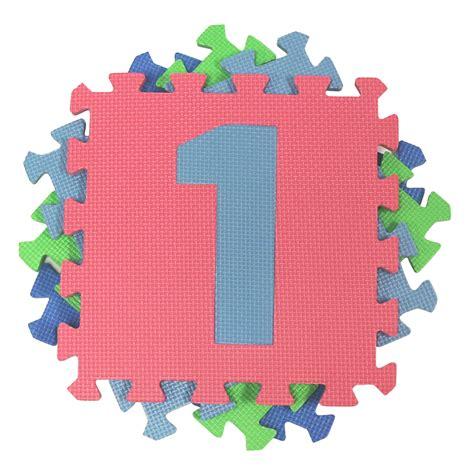tappeto morbido bambini tappeto da gioco per bambini morbido numeri a incastro ebay