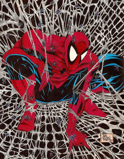 spider man by todd mcfarlane cbr community