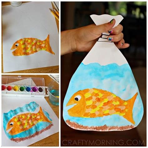 Paper Bag Fish Craft - 25 best ideas about fish crafts on fish