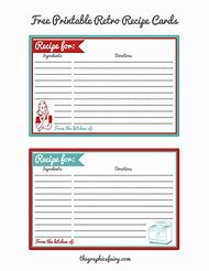 printable recipe cards - Free Editable Recipe Card Templates For Microsoft Word