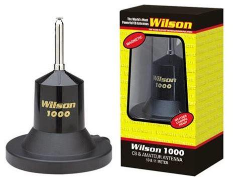 wilson 1000 magnet cb antenna right channel radios