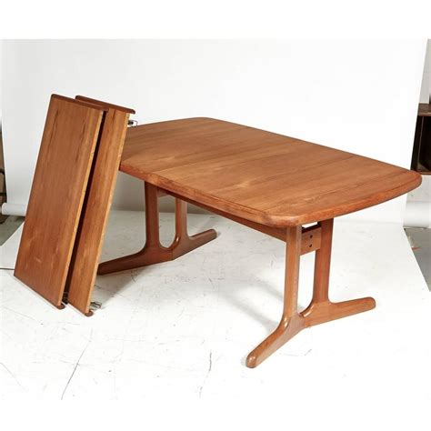danish dining room table danish teak dining room table 1970s for sale at 1stdibs