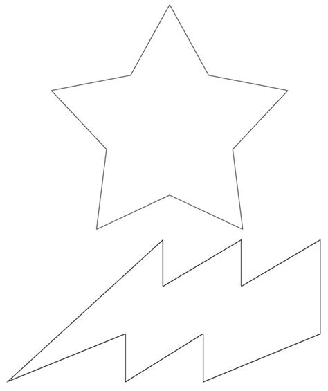 free coloring pages of lightning bolt