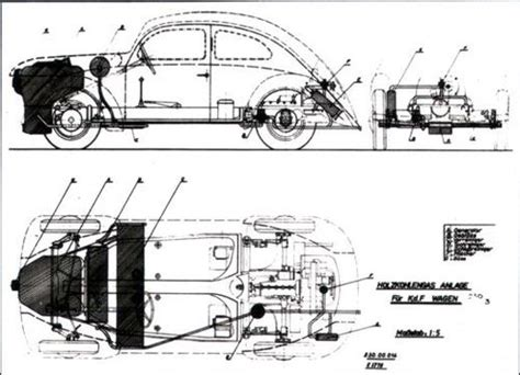 Wood Gas Vehicle Plans