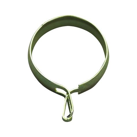 curtain ring brass curtain rings with clips drapery rings shower