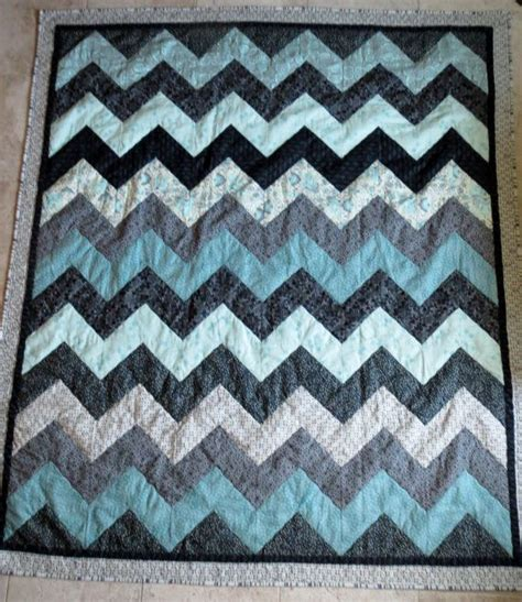Chevron Pattern Quilts by Hill And Dale Quilt Pattern Chevron By Clarkecottagequilts 10 00 Sewing Projects And