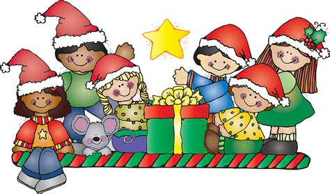 christmas gift drawing elementary school children clipart clipartxtras