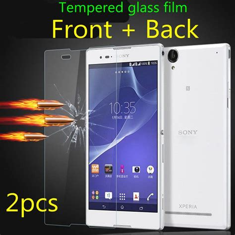 Tempered Glass Sony Xperia M5 Back Anti Gores mini aqua reviews shopping mini aqua reviews on aliexpress alibaba
