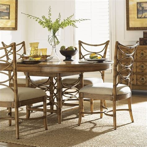 bahama kitchen table bahama home house coconut grove dining table in golden umber 540 870c