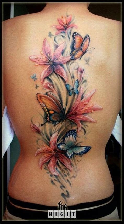 35 pretty lily flower tattoo designs for creative juice