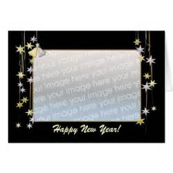 happy new year black template greeting card zazzle