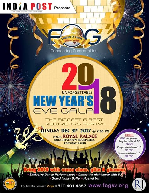 new year 2018 events california fog new year 2018 in royal palace fremont ca