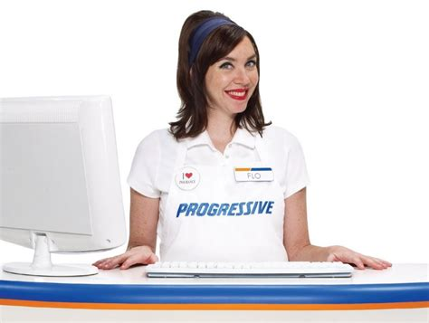 Image: Flo, for Progressive Insurance, size: 1024 x 772